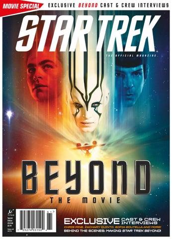 Star trek magazine beyond the movie 2016 by Comics3 - issuu