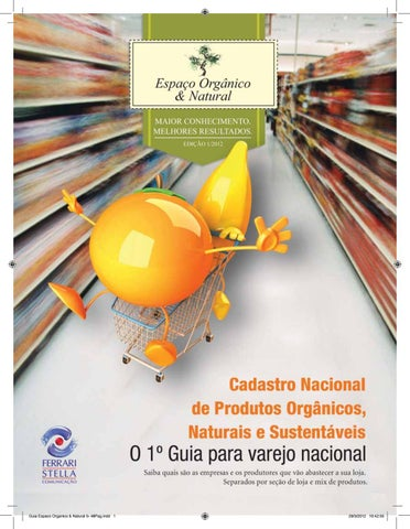 df162925b Espaço orgânico e natural edição 01 2012 by Espaço Orgânico e ...