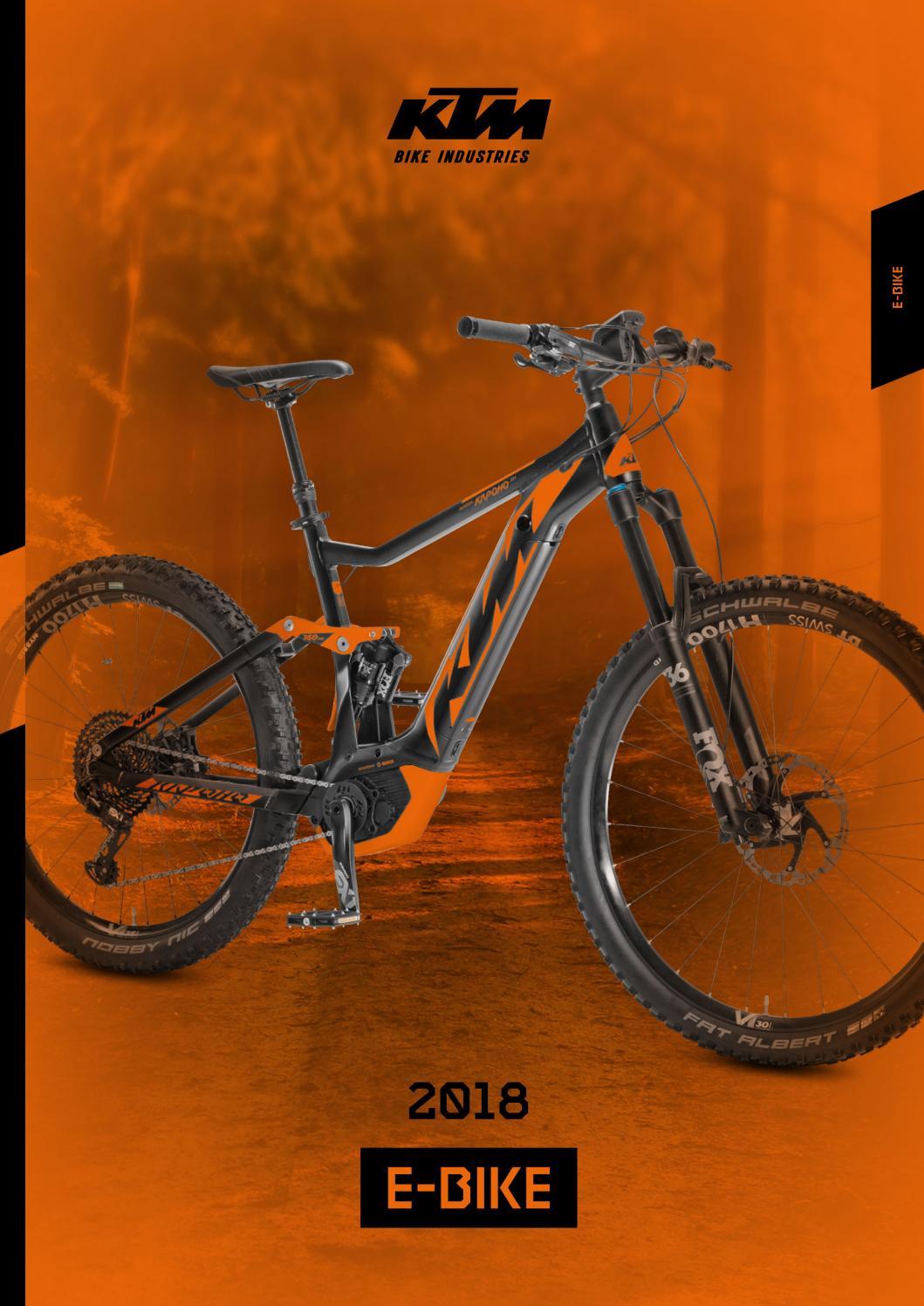 Ktm e bike catalogue 2018 screen by Simion Mauro - issuu