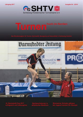 Turnen Hoch Im Norden 04 2017 By Shtv Issuu