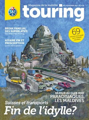 Touring 11   2017 français by Touring Club Schweiz Suisse Svizzera ... 1b024350cd8