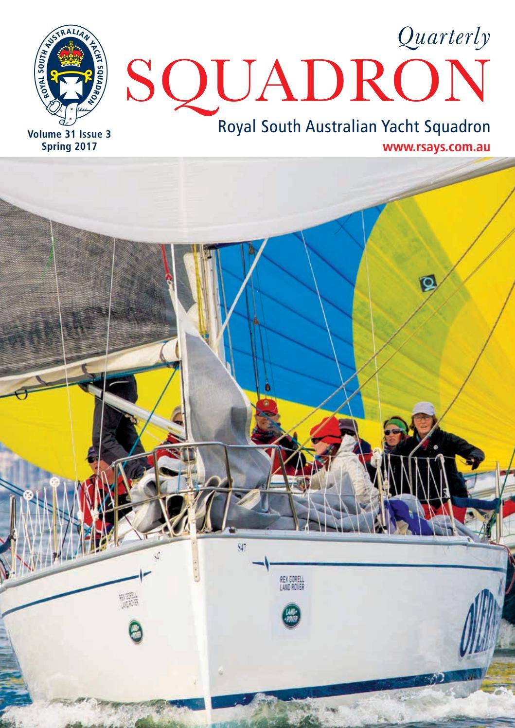 Sqspring2017web by Royal South Australian Yacht Squadron - issuu