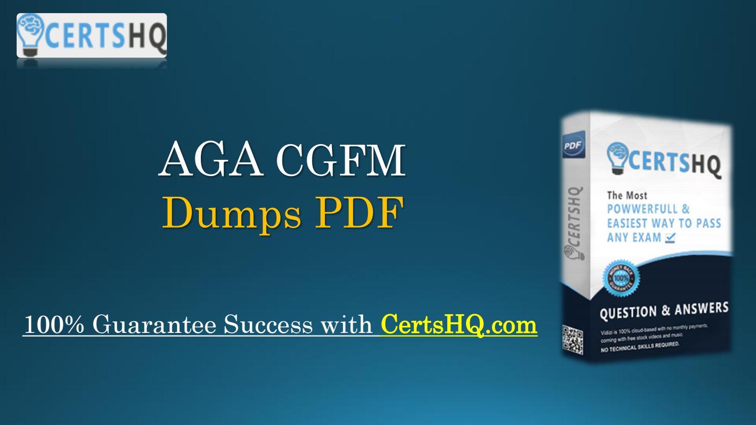 Updated Cgfm Pdf Braindumps Instant Download By Georgia Bradshaw