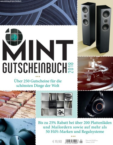 MINT Gutscheinbuch 2018 by MINT Magazin - issuu