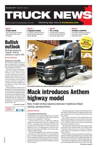 Truck News November 2017 by Annex Business Media - issuu