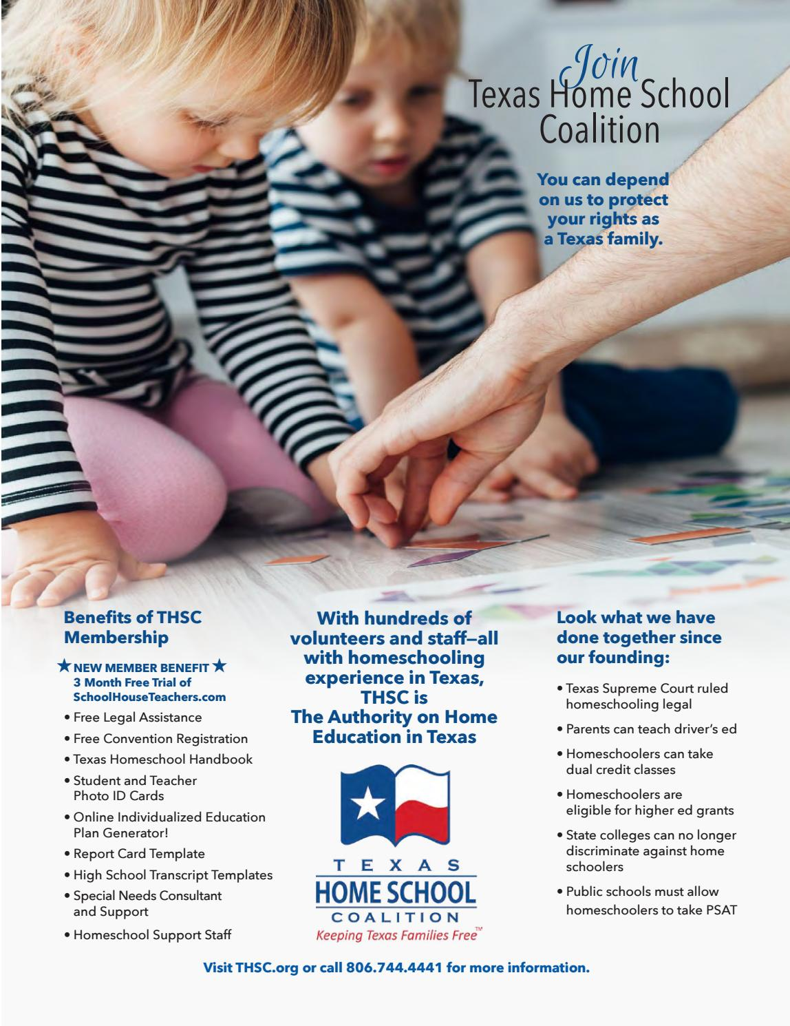 Texas Home School Coalition Review Fall 2017 by Texas Home