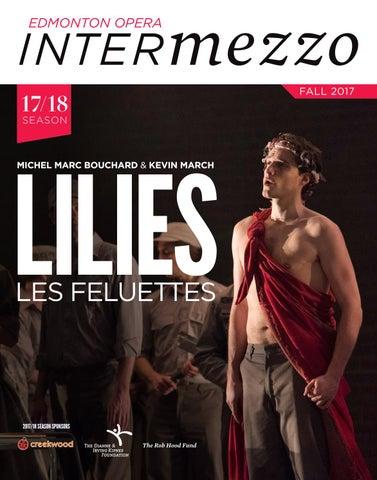 Edmonton Opera magazine - Lilies (Les Feluettes) by Suggitt