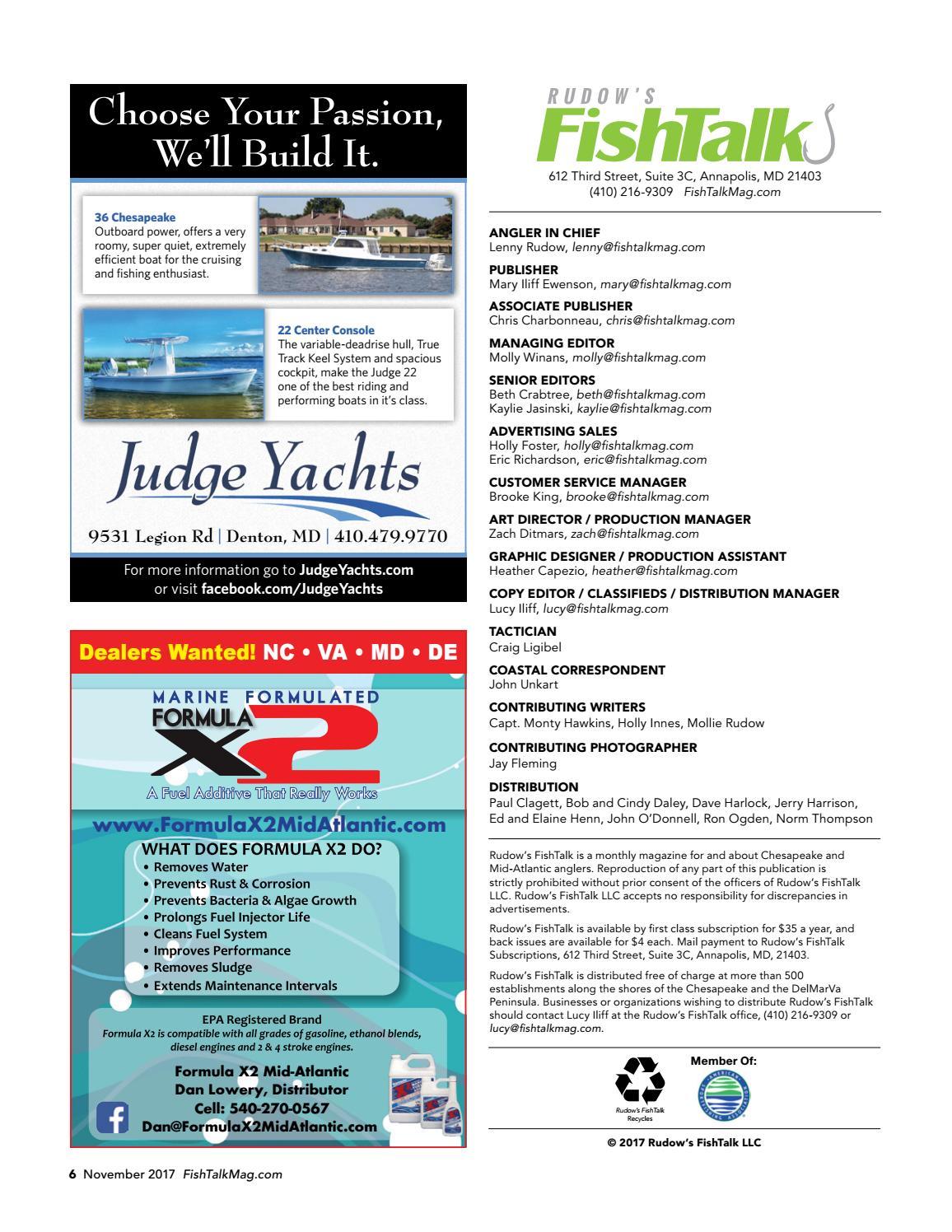 FishTalk Magazine November 2017 by SpinSheet Publishing
