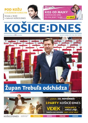 cb1bb2137 KOŠICE:DNES 24.10.2017 by KOŠICE:DNES - issuu