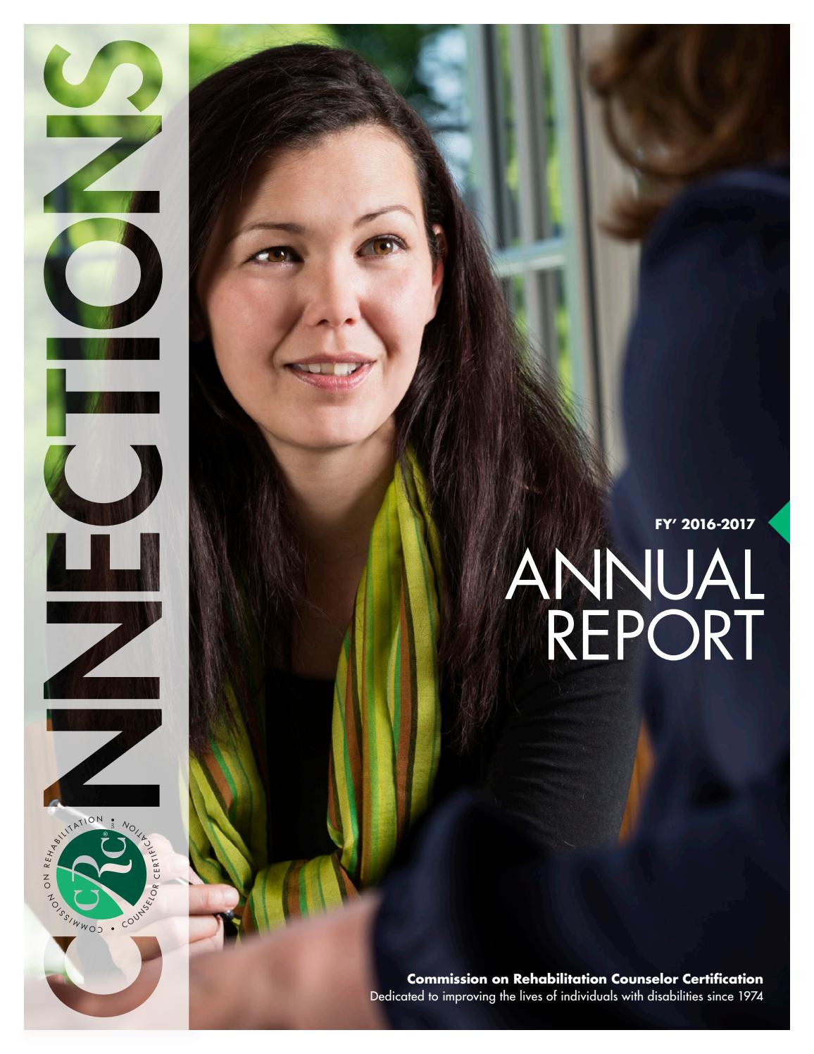 October 2017 Crcc Connections Annual Report By Crcc Issuu
