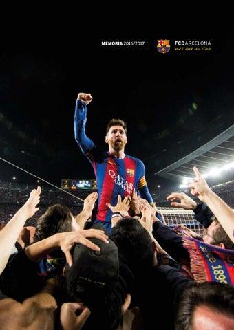 MEMORIA FC BARCELONA TEMPORADA 2016 2017 by FC Barcelona - issuu f4cbf304933