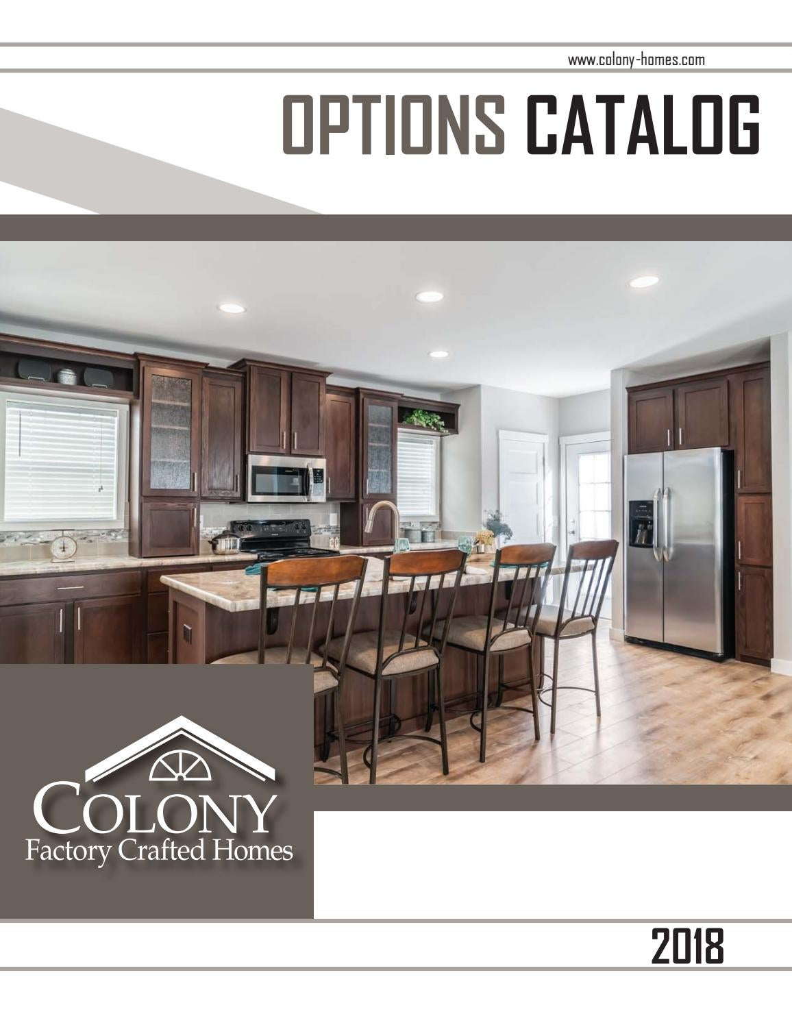 colony factory crafted homes options guide 2018 by the