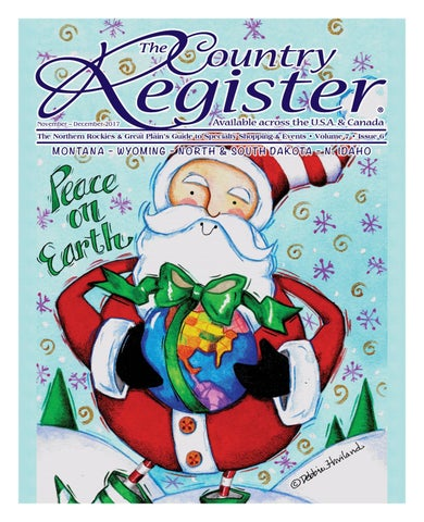 Country Register NRGP – November December 2017 by Moxie Marketing of