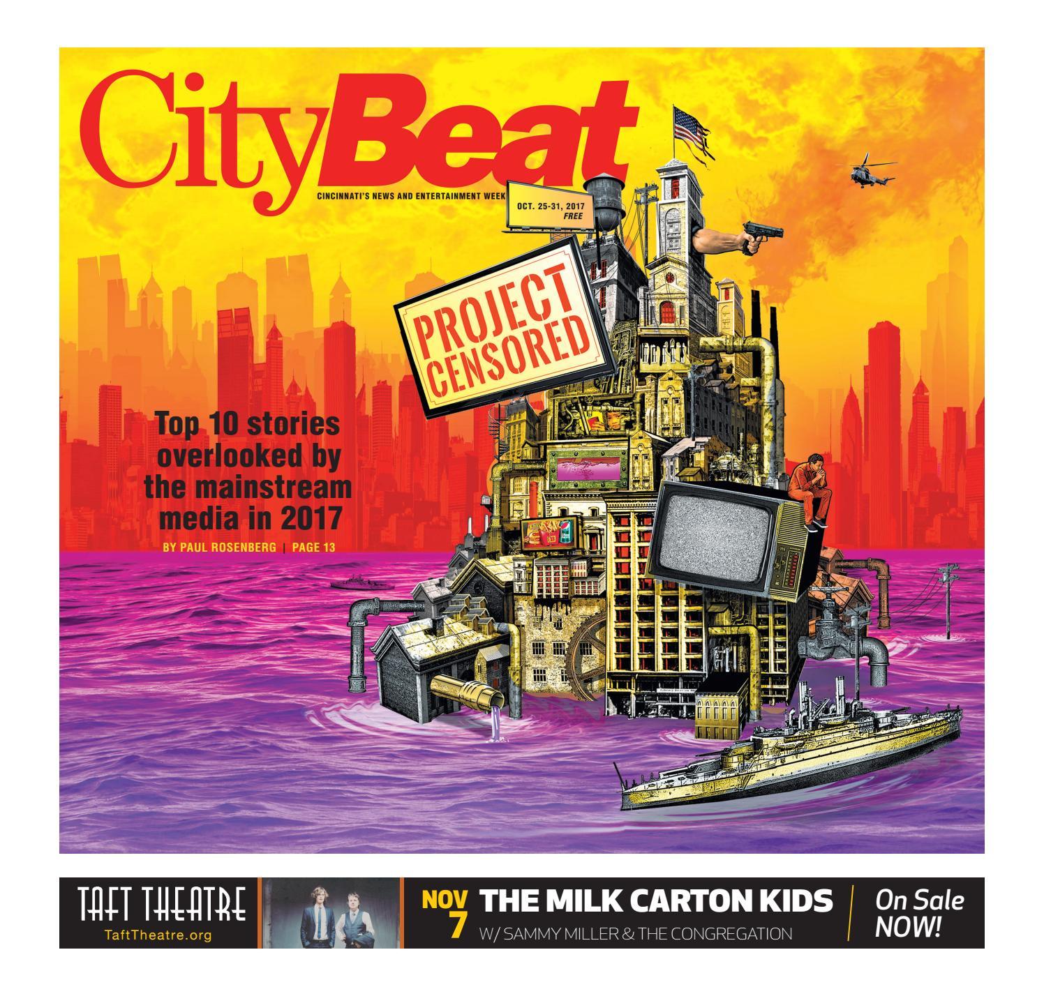 CityBeat Oct  25, 2017 by Cincinnati CityBeat - issuu