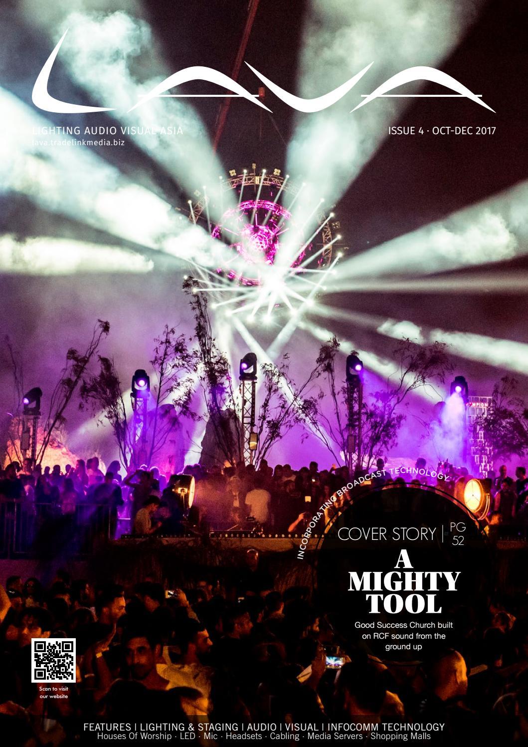 Lighting Audio Visual Asia : Vol  4 / 2017 by Lighting Audio