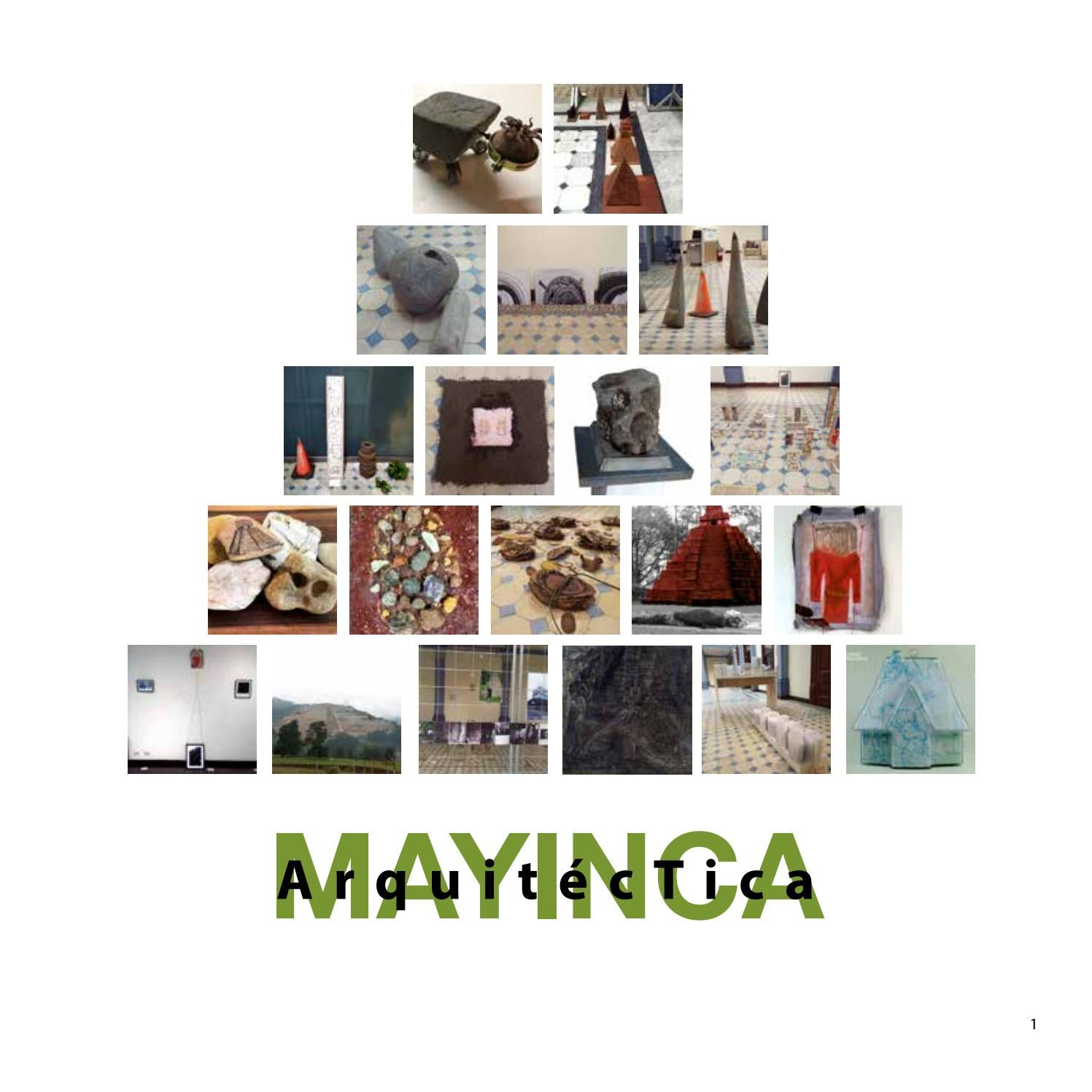 Catalogo mayinca arquitectica by Luis Fernando Quiros - issuu
