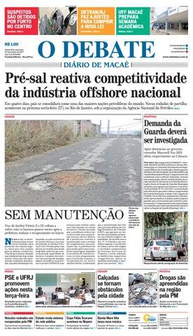 Edição 9420 24 10 2017 by O DEBATE Diario de Macae - issuu d2ceeb7795