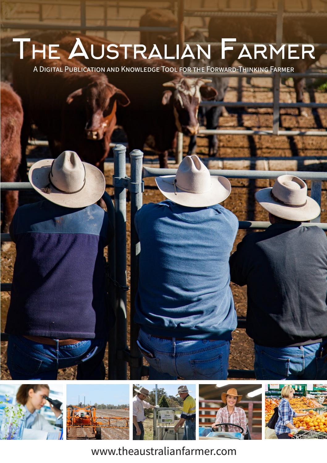 5b513859501 The Australian Farmer by One Mandate Group - issuu
