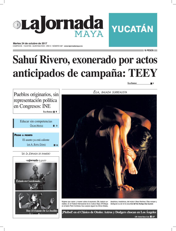 La Jornada Maya · Martes 24 de octubre de 2017 by La Jornada Maya - issuu 32ec2d3afa8