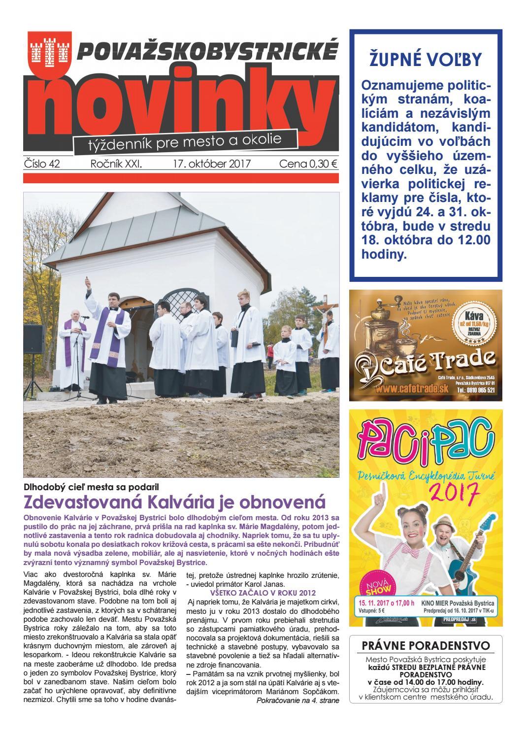c3483685e Považskobystrické novinky č. 42/2017 by Považskobystrické novinky - issuu