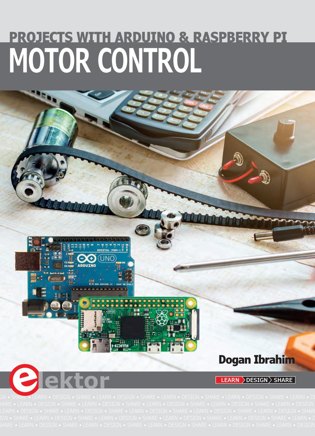 Motor Control Projects With Arduino And Raspberry Pi By Elektor Issuu Bldc Circuit Using