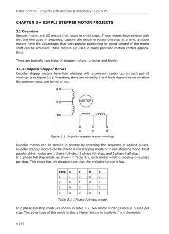 Motor Control - Projects with Arduino & Raspberry Pi Zero W