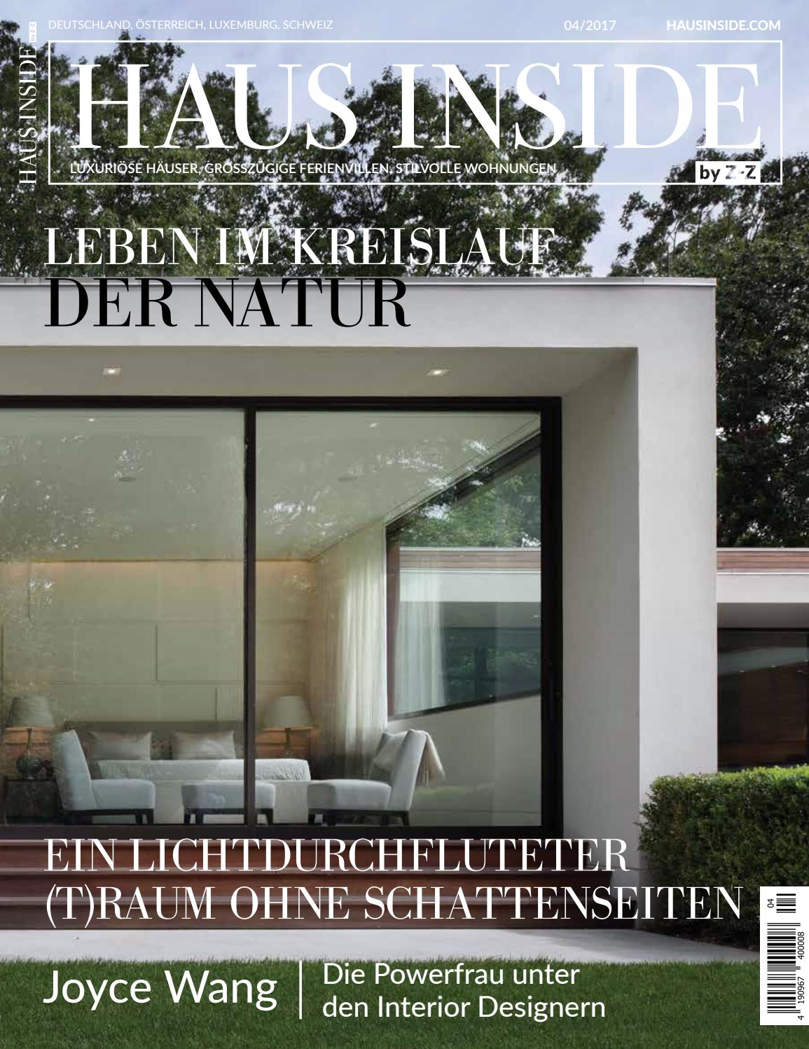 HAUS INSIDE By Z Z Herbst 2017 By HAUS INSIDE   Issuu