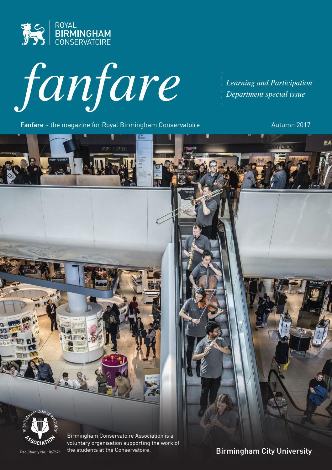 Fanfare magazine Autumn 2017 by Birmingham Conservatoire - issuu