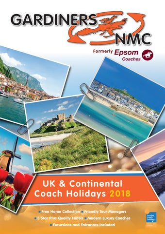 Gardiners NMC UK & Continental Coach Holidays 2018 by Chris