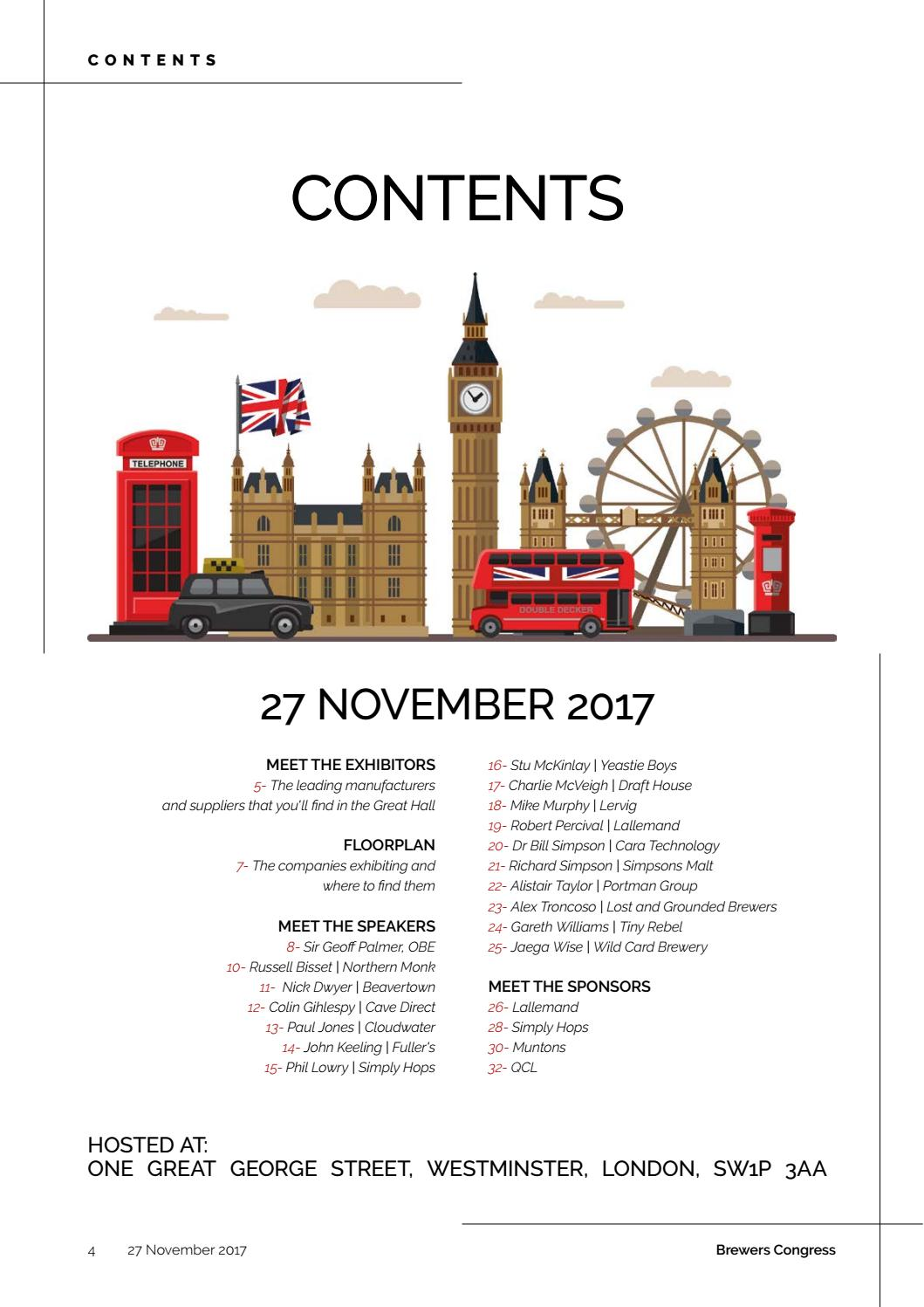 Brewers Congress Guide 2017 By Reby Media Issuu