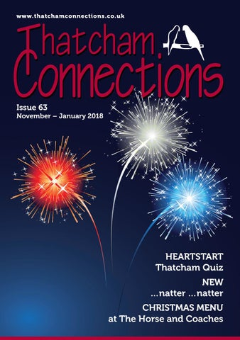 Thatcham Connections Issue 63 By Ursula Aitken