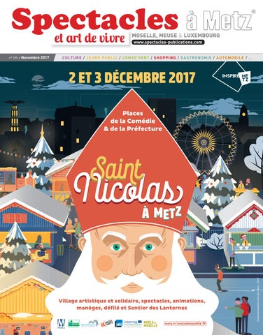 4e728f93305d Spectacles Publications Metz n°295   Novembre 2017 by SPECTACLES ...