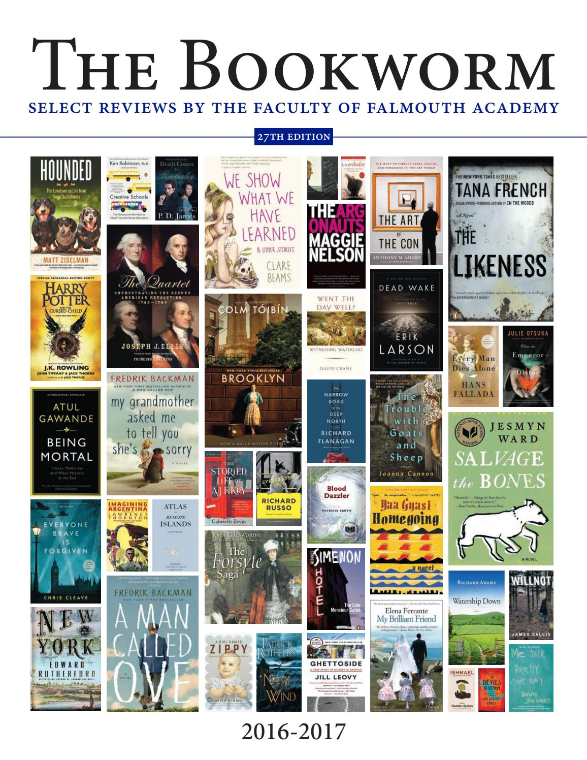 The Bookworm 2016-17 by Falmouth Academy - issuu