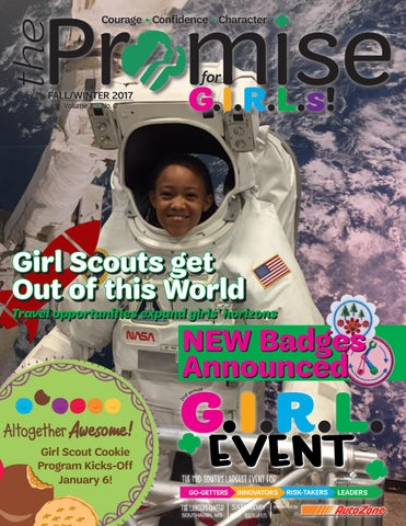 Girl Scouts Heart of the South - The Promise Magazine - for