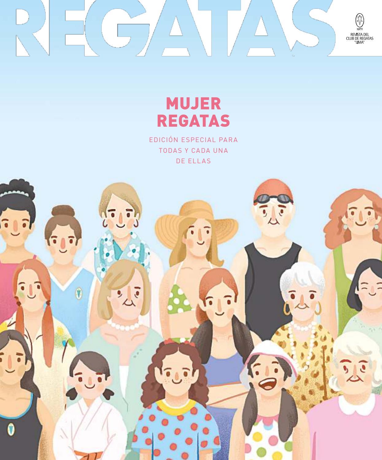 5b6c58d90125 REGATAS | Edición 278|MUJER REGATAS by REGATAS - issuu