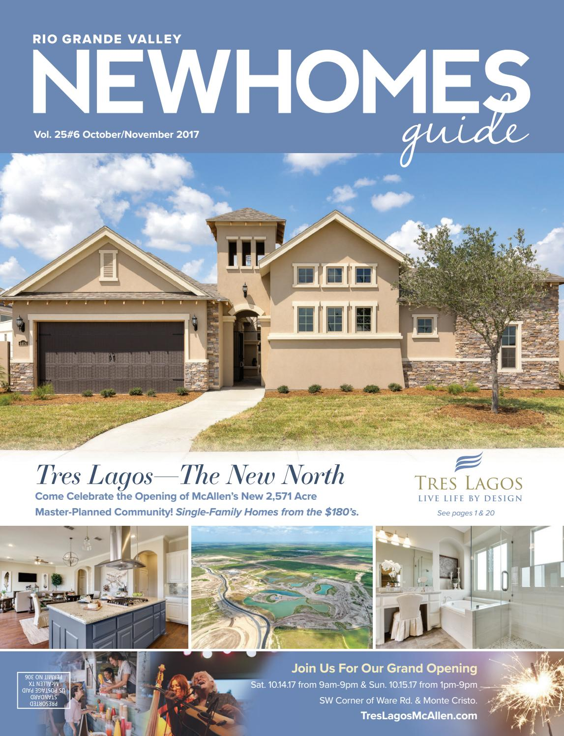 Rgv new homes guide vol 25 6 oct nov 2017 by new for Home builders guide