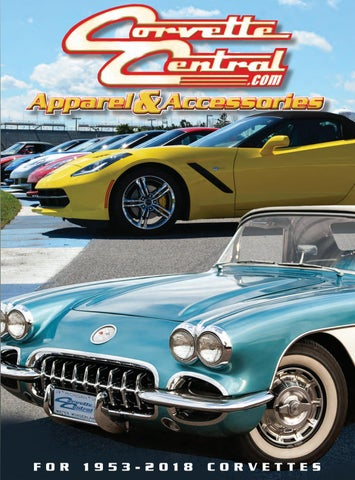 74c99eba93 Corvette Central Accessories Catalog by Corvette Central - issuu