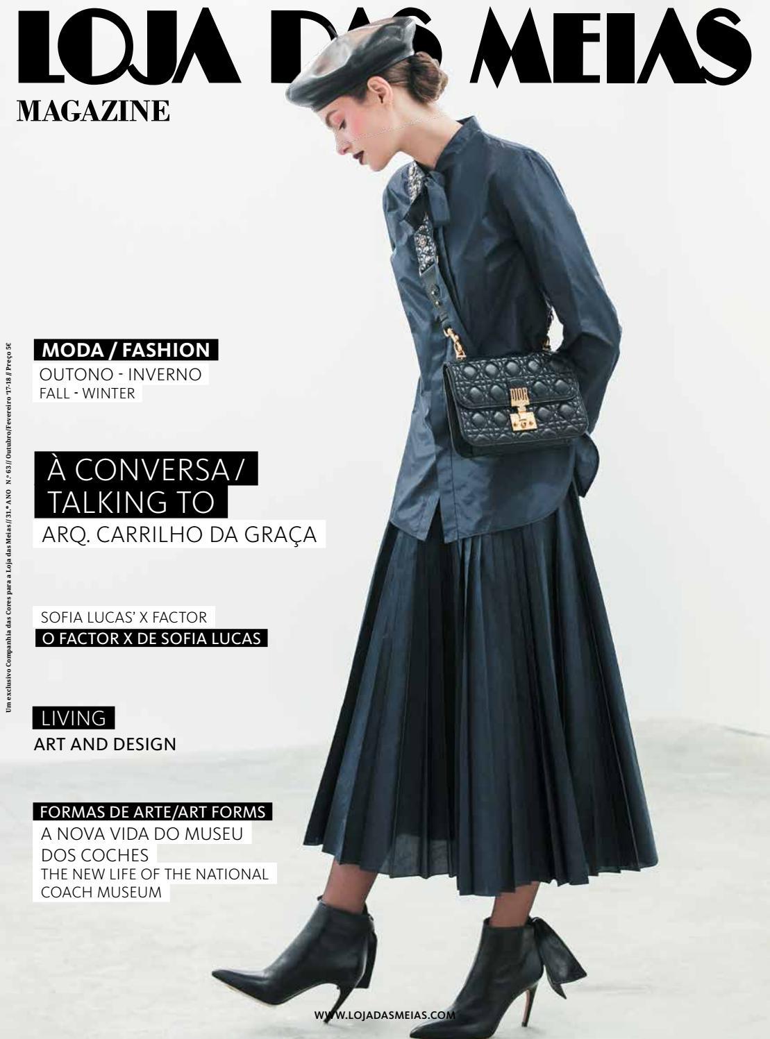 74e8420c22c Loja das Meias Magazine 63 – Out Fev 2018 by Companhia das Cores - issuu