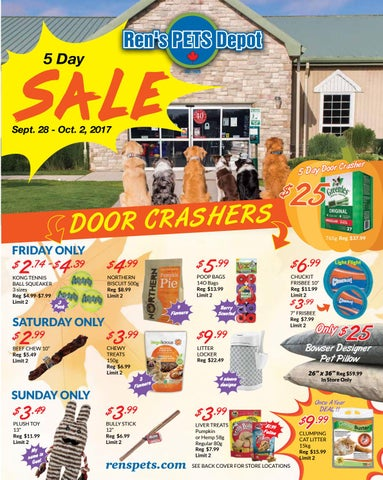 Sept Retail Flyer Email By Ren S Pets Depot Issuu