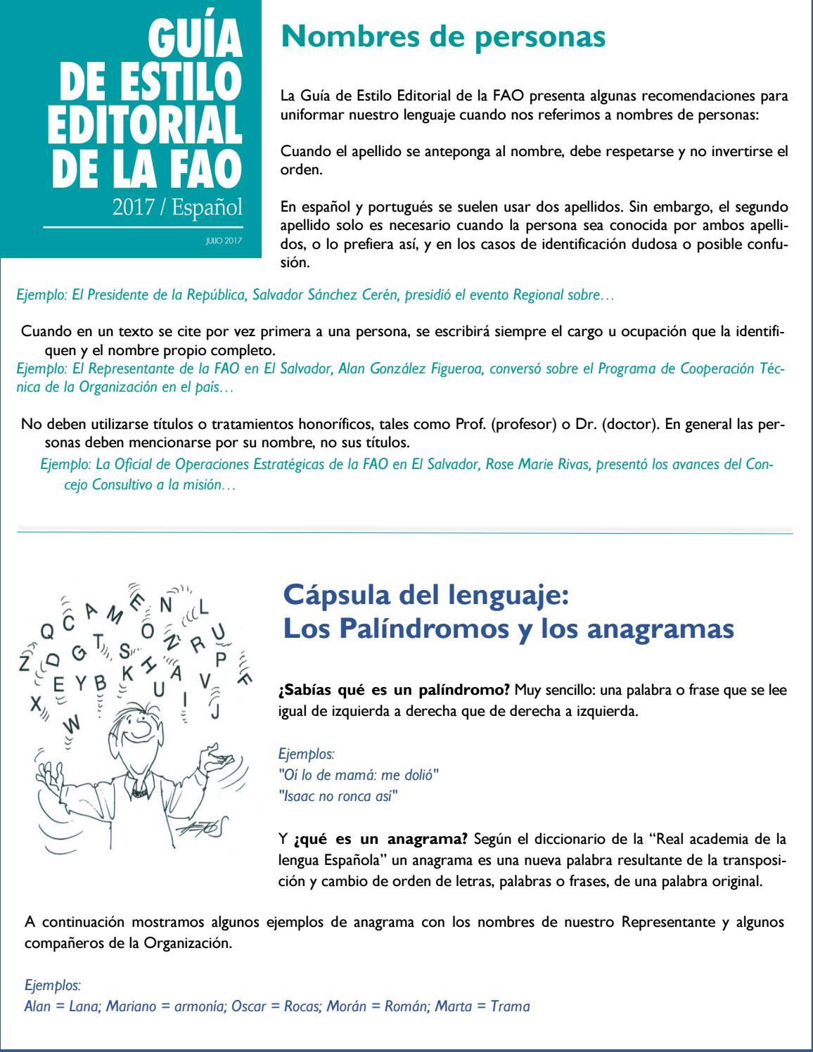 Boletín interno #9 by FAO-El Salvador - issuu