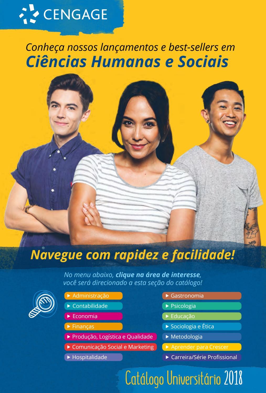 1753a7644617a Catálogo Universitário 2018 - Ciências Humanas e Sociais - Cengage by  Cengage Brasil - issuu