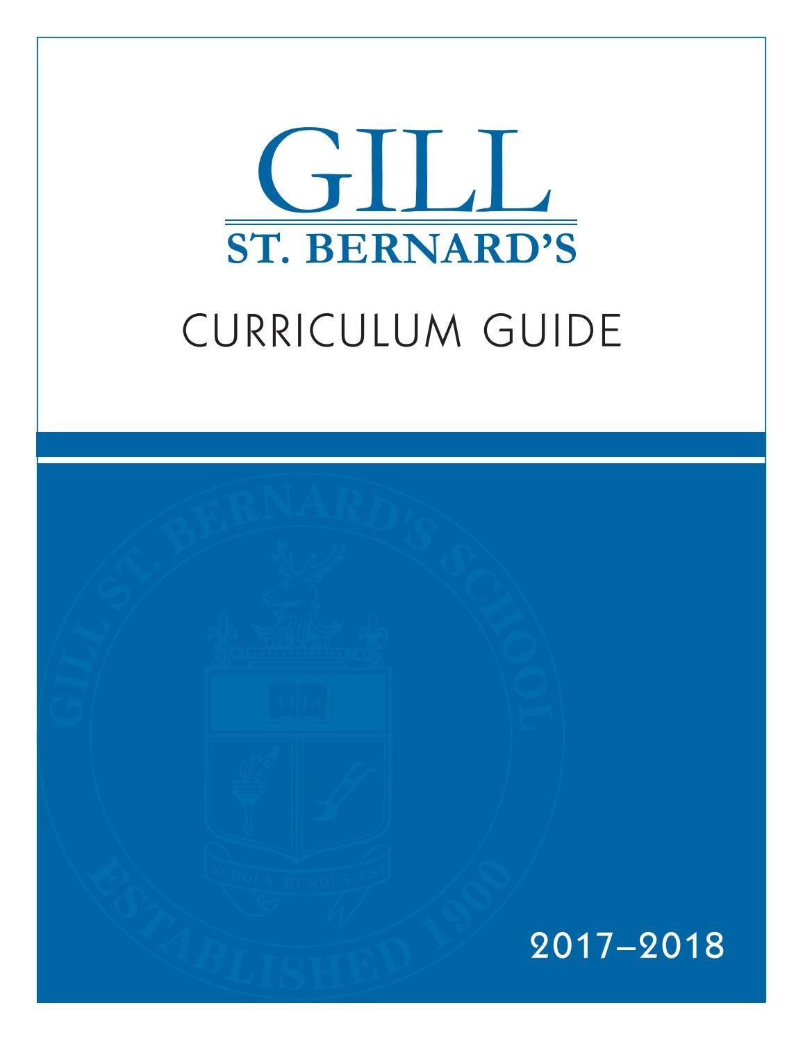 GSB Curriculum Guide by Gill St  Bernard's School - issuu