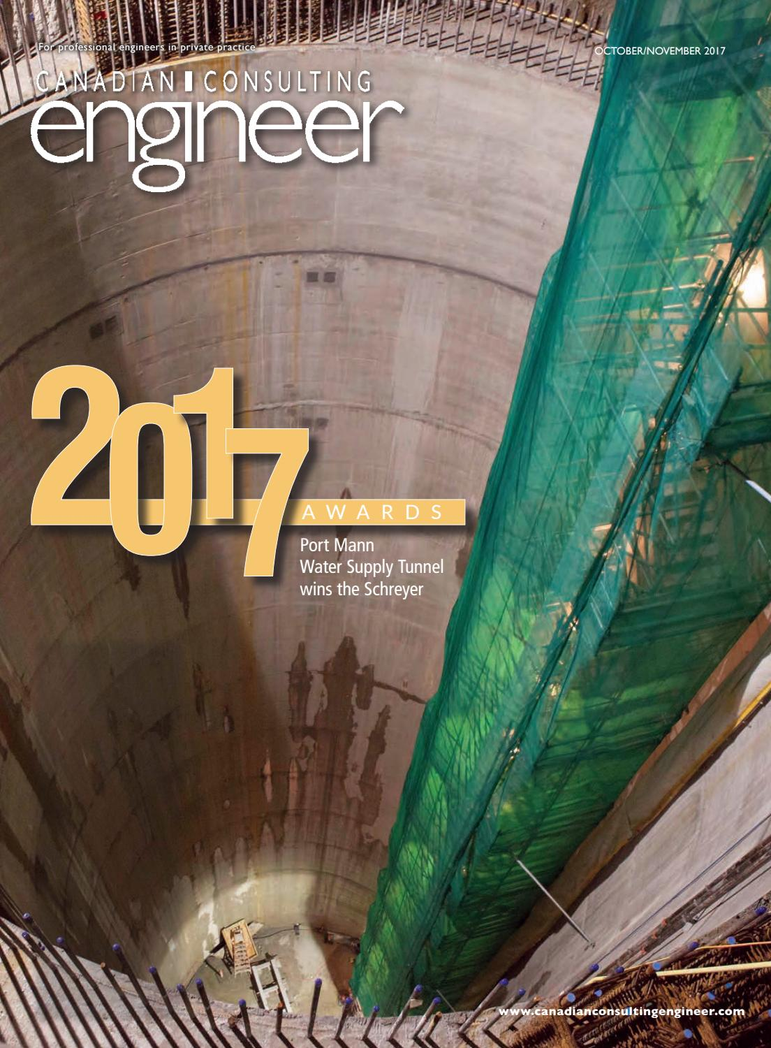Canadian consulting engineer octobernovember 2017 by annex newcom canadian consulting engineer octobernovember 2017 by annex newcom lp issuu fandeluxe Gallery