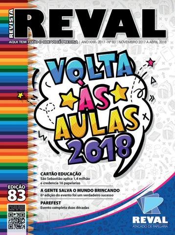 9be42a90c95 Revista Reval 83 - Parte 02 by Reval Atacado de Papelaria Ltda. - issuu