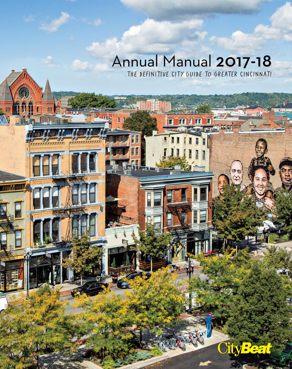Annual Manual 2017-18 by Cincinnati CityBeat - issuu