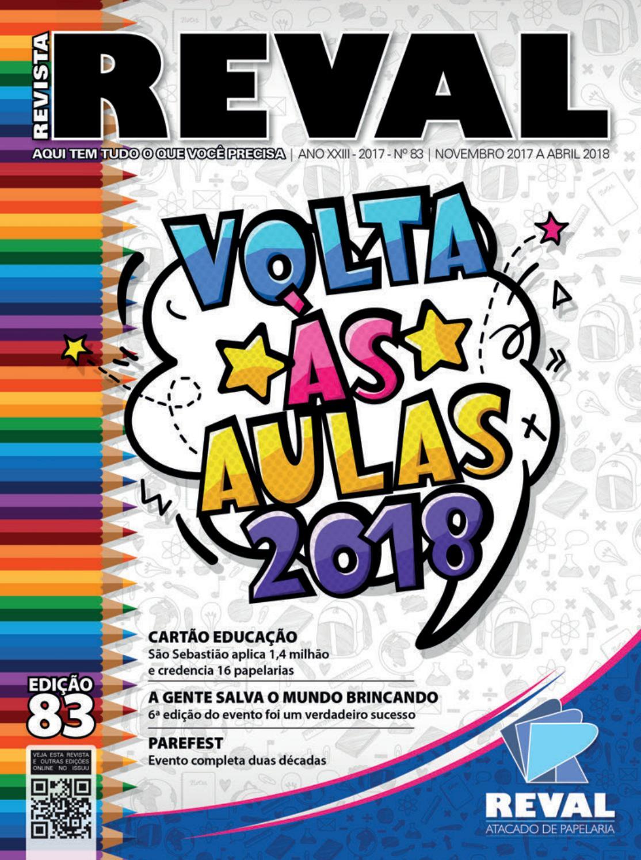 dd19cc271a Revista Reval 83 - Parte 01 by Reval Atacado de Papelaria Ltda. - issuu