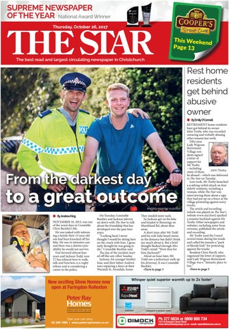 13be5495720 The Star 26-10-17 by Local Newspapers - issuu
