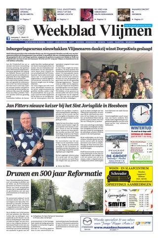 Weekblad Vlijmen 25 10 2017 By Uitgeverij Em De Jong Issuu