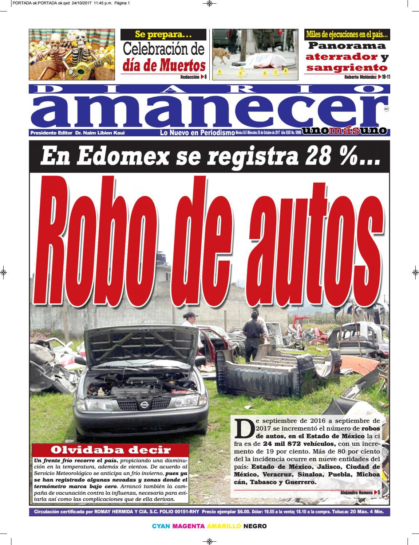 Octubre 25 de 2017 by Diario Amanecer - issuu