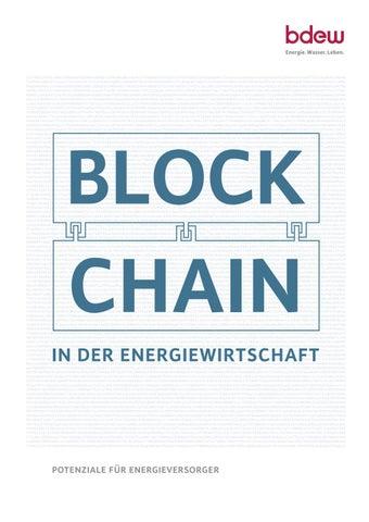 Blockchain in der Energiewirtschaft by BDEW - issuu